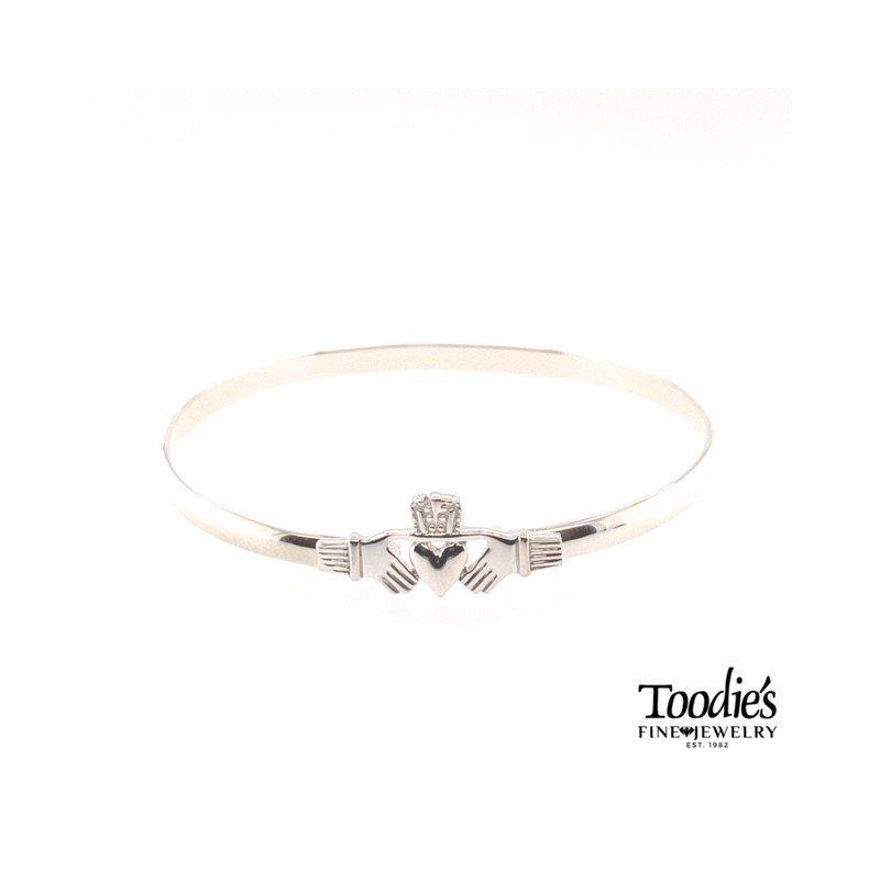 Toodie's Signature Fashion Silver Claddaugh Bracelet