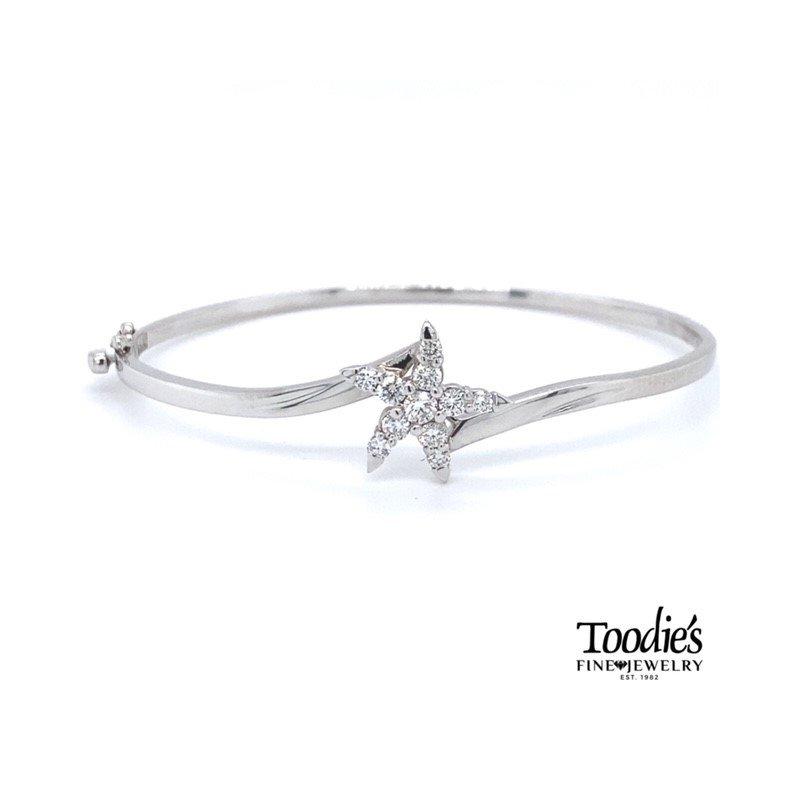 Toodie's Signature Fashion Diamond Starfish Bracelet