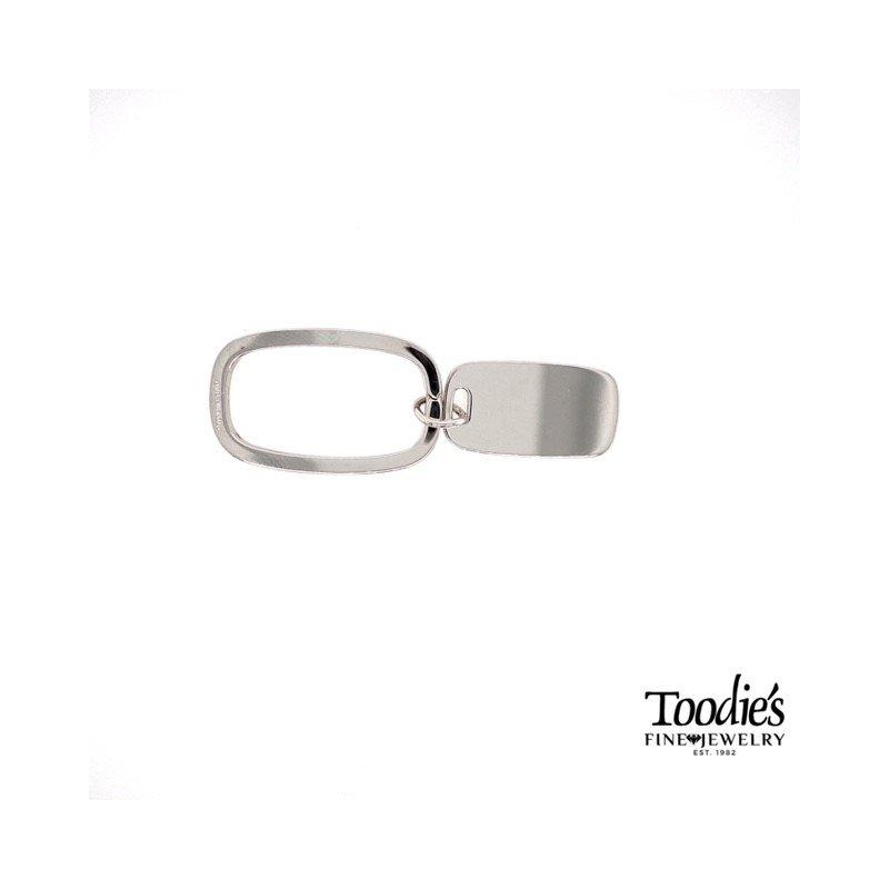 Toodie's Signature Fashion Silver Key Chain
