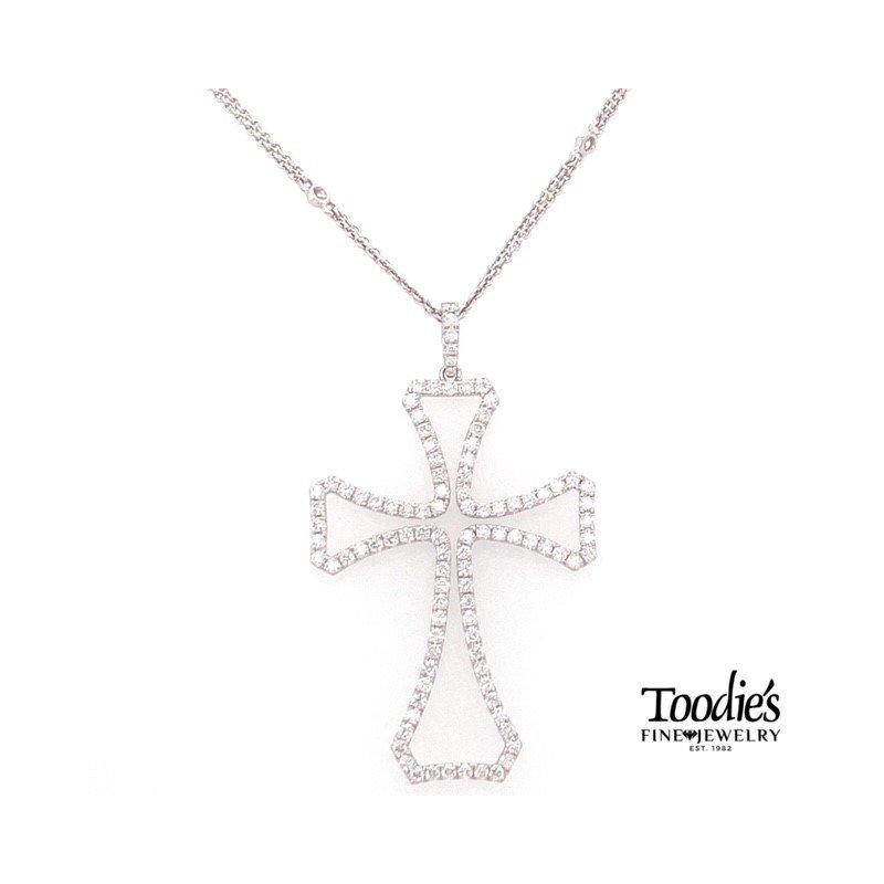Toodie's Signature Fashion Breath-Taking Diamond Cross