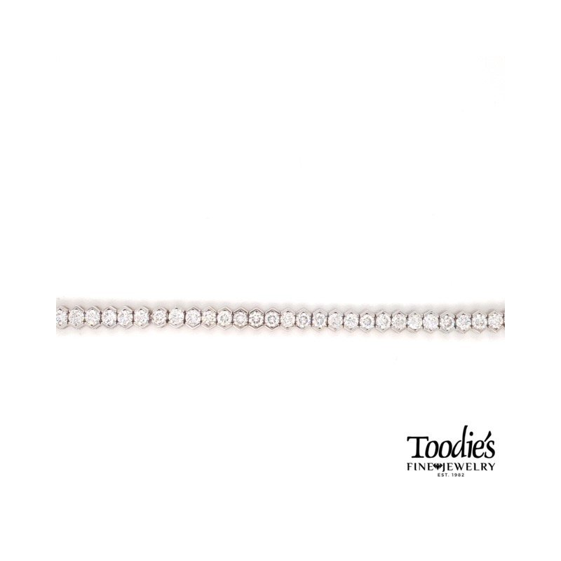 Toodie's Signature Fashion 6 Carat Diamond Tennis Bracelet