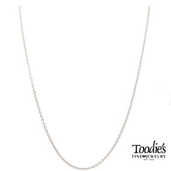 """20"""" Sterling Silver Pendant Chain"""