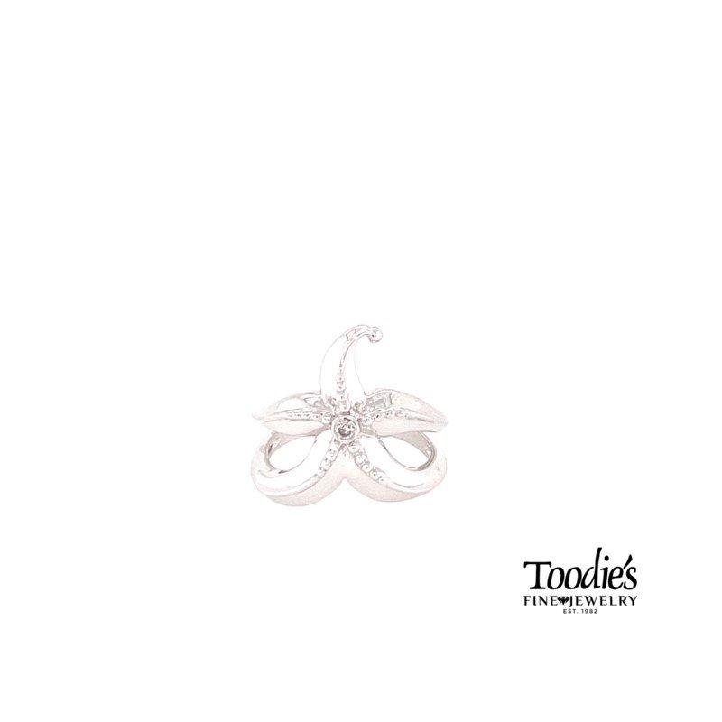 Penny James Jewelry Diamond Fashion Starfish Ring