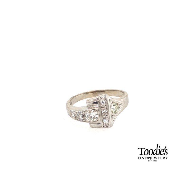 "Toodie's Signature Fashion Antique ""Dorothy"" Diamond Ring"