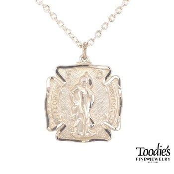 St. Florian Medallion Necklace