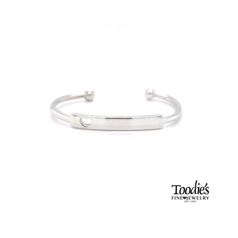 Toodie's Signature Fashion Children's Open Heart Bracelet
