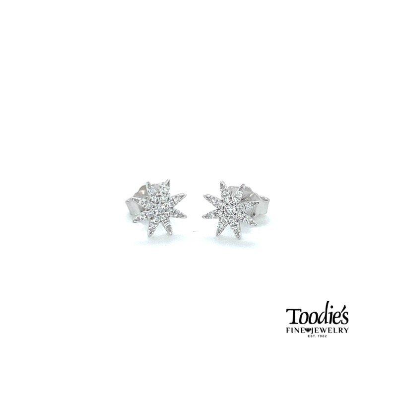 Toodie's Signature Fashion Starburst Studded Earrings