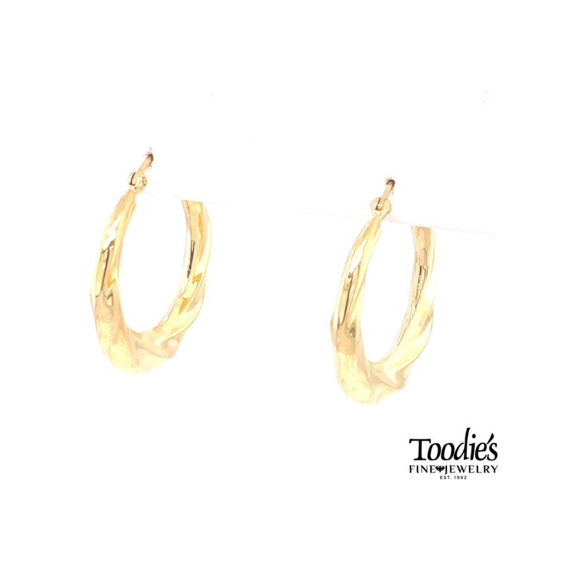 Toodie's Signature Fashion Twisted Hoop Earrings