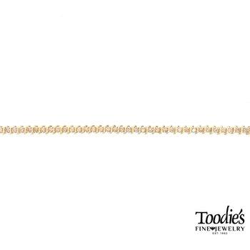 Vintage S-Link Diamond Tennis Bracelet