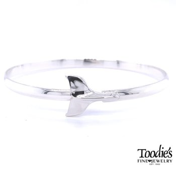 Whales Tale Bangle Bracelet