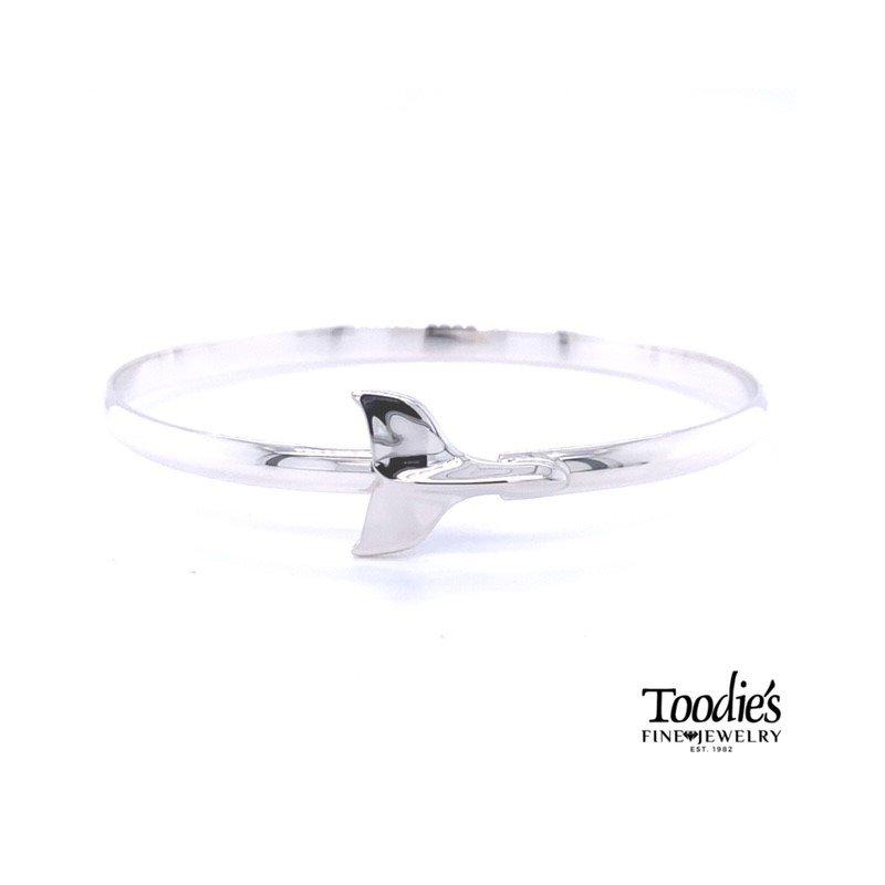 Toodie's Signature Fashion Whales Tale Bangle Bracelet