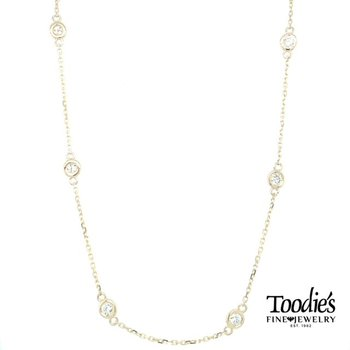 1 Carat Diamonds by the Yard Necklace