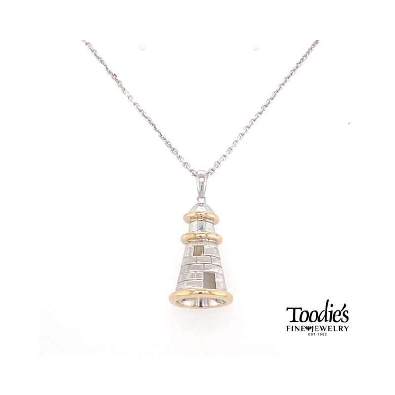 Penny James Jewelry Lighthouse Pendant Necklace