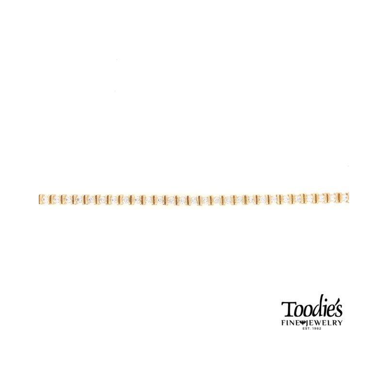 Toodie's Signature Fashion 3.50 Carat Diamond Tennis Bracelet