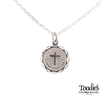 Confirmation Disc Necklace