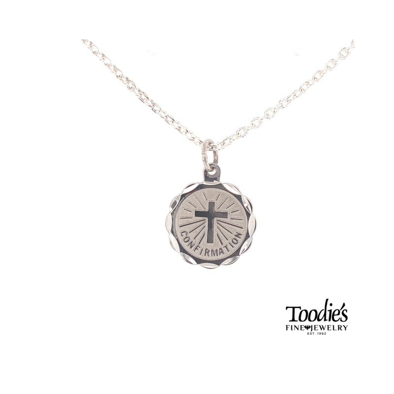 Toodie's Signature Fashion Confirmation Disc Necklace