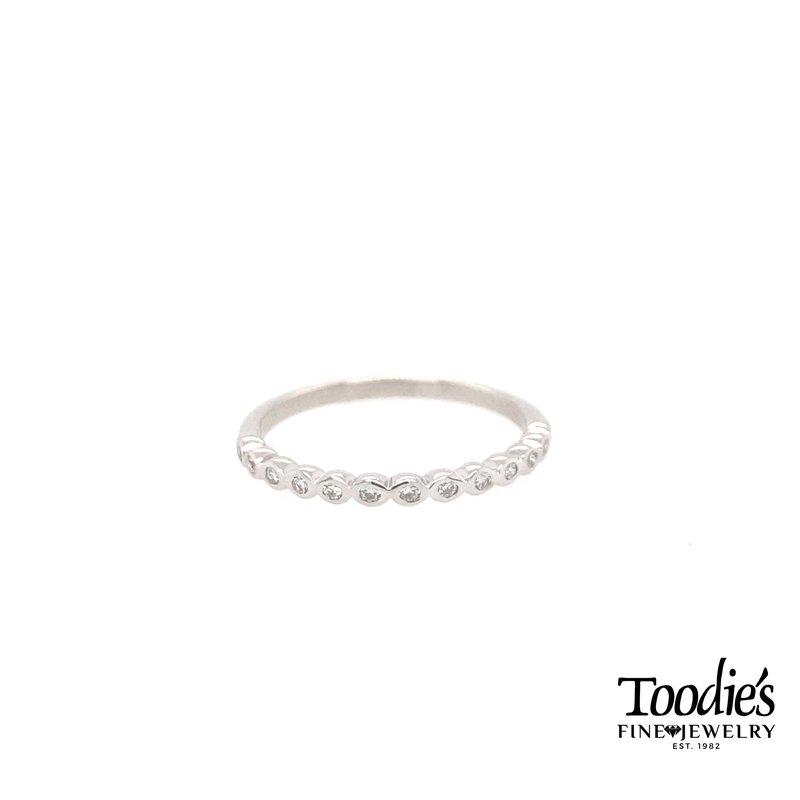 Toodie's Signature Fashion Bezel Set Diamond Wedding Band