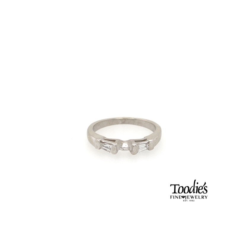 Toodie's Signature Fashion Two Stone Baguette Band