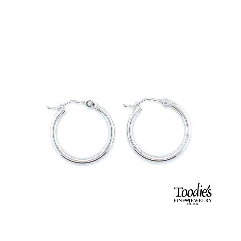 Toodie's Signature Fashion High Polished Hoop Earrings