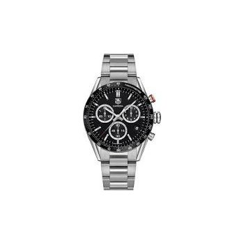 Carrera Watch with Black Chronograph dial