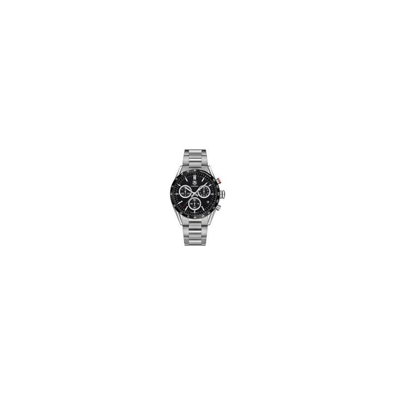 TAG Heuer Carrera Watch with Black Chronograph dial