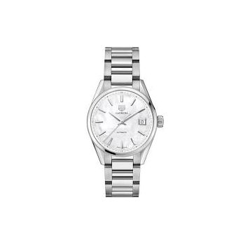 Ladies Carrera Midsize w/ White Mother of Pearl Dial