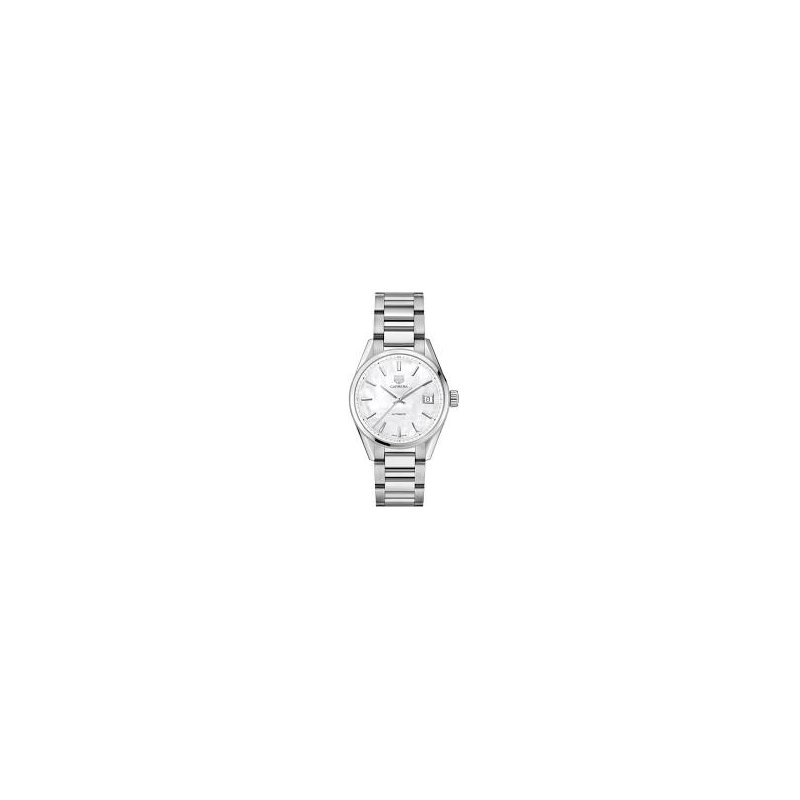 TAG Heuer Ladies Carrera Midsize w/ White Mother of Pearl Dial