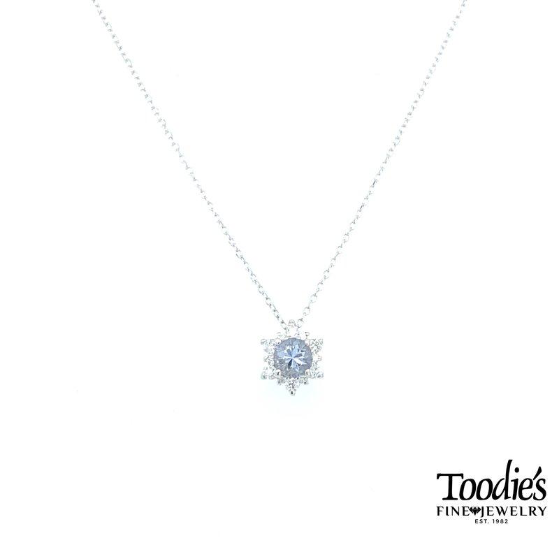 Toodie's Signature Fashion Bluish Purple Mystic Sapphire Pendant