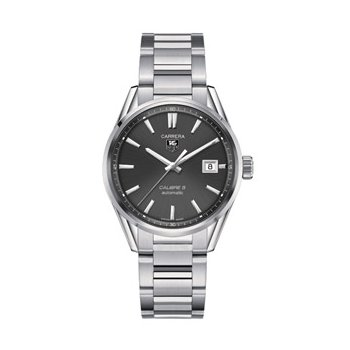 Carrera Automatic Watch with Anthracite Dial