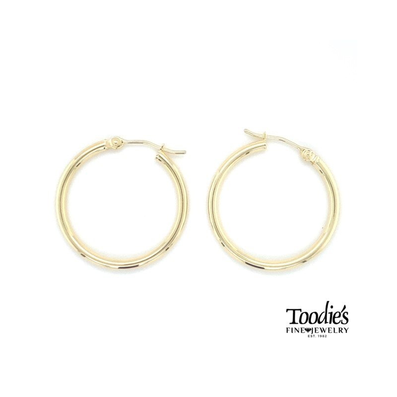 Toodie's Signature Fashion Medium Sized Hoop Earrings