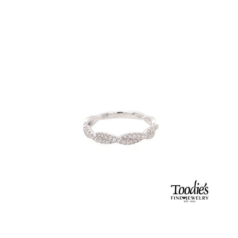 Toodie's Signature Fashion *Andrew Favorite* Diamond Pave' Twisted Band
