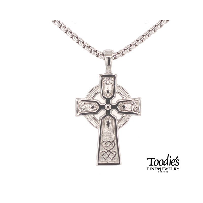Toodie's Signature Fashion Large Celtic Cross Necklace