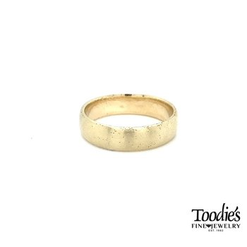 Satin Stardust Domed Band