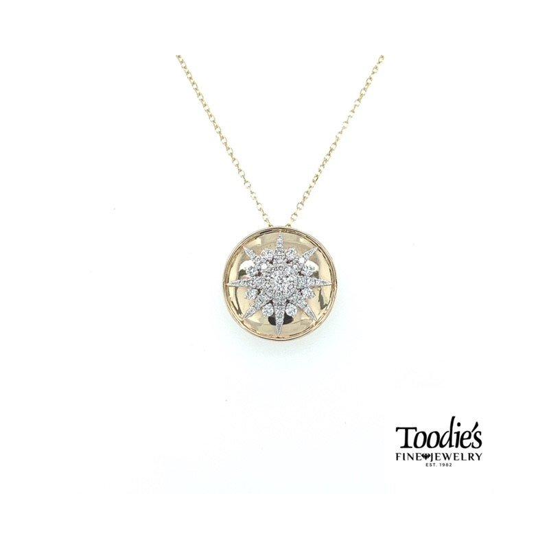 Toodie's Signature Fashion Starburst Necklace