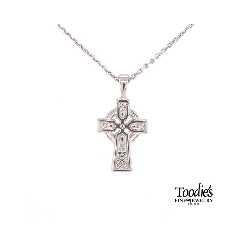 Toodie's Signature Fashion Small Celtic Cross Necklace