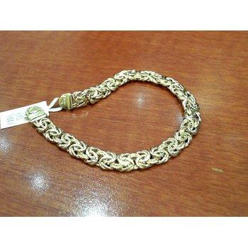 Gold Bzantine Bracelet