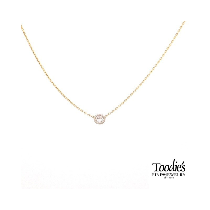 Toodie's Signature Fashion Floating Diamond Pendant