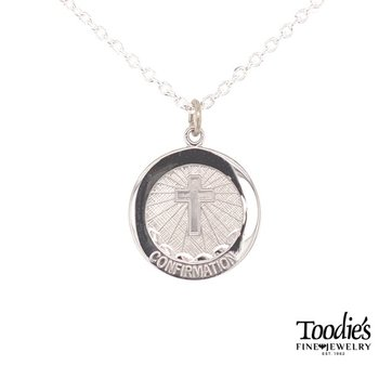 Confirmation Medallion Necklace