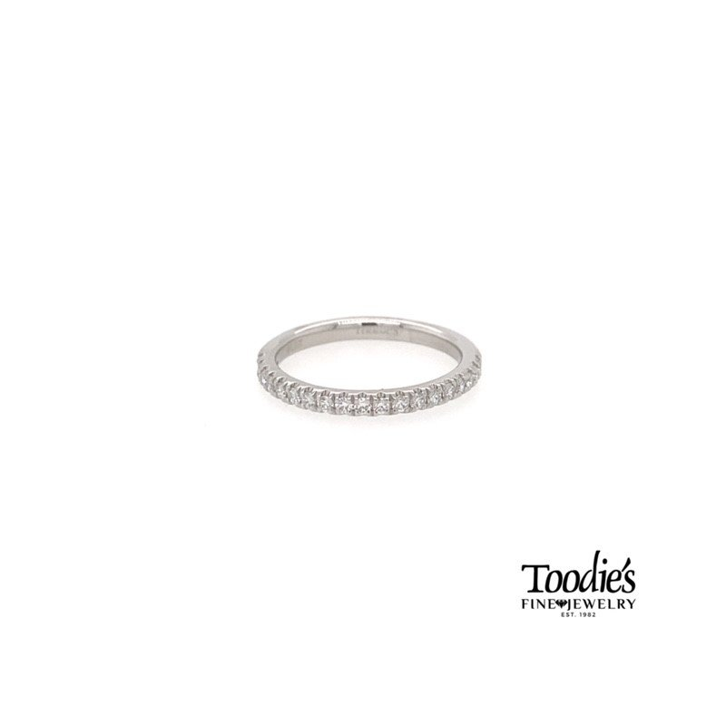 Toodie's Signature Fashion Platinum Straight Prong Set Diamond Band