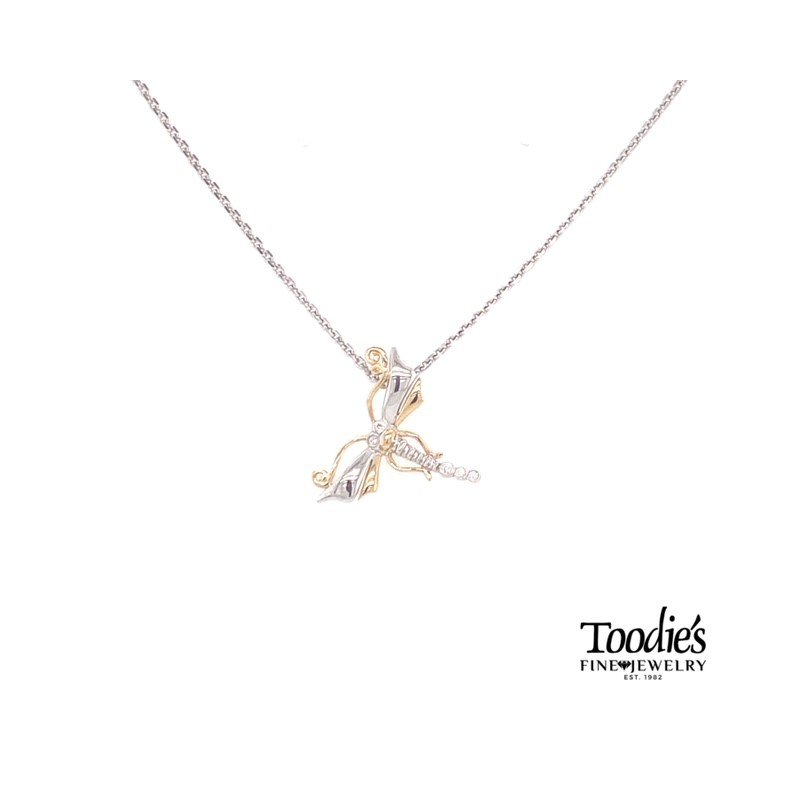 Penny James Jewelry Dragon Fly Pendant Necklace