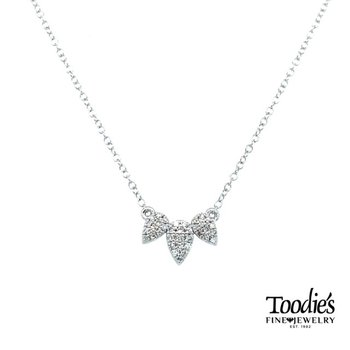 Triple Pear Shaped Drop Necklace