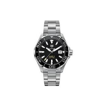 Aquaracer 300 Automatic Watch with Black Dial