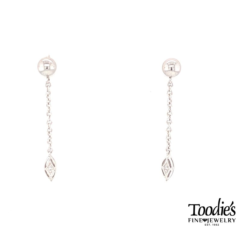 Toodie's Signature Fashion Diamond Studded Ball Earrings