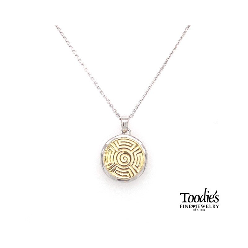 Charsinsky Designs Circle Pendant Necklace