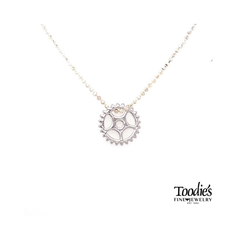 Toodie's Signature Fashion Gear Style Necklace