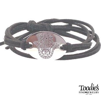 Hamasa Suede Bracelet