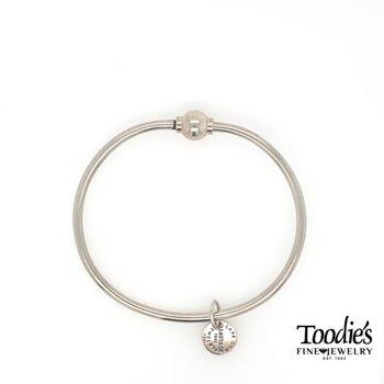 Cape Cod Silver Ball Bracelet