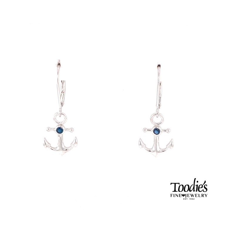 Penny James Jewelry Anchor Style Earrings