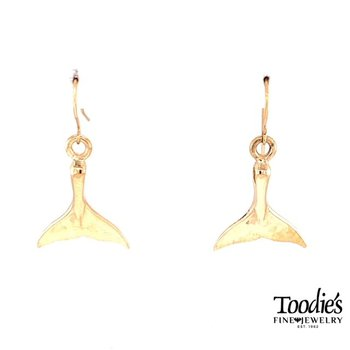 Whale's Tale Drop Earrings