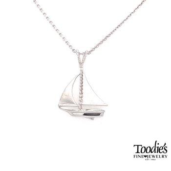 Sailboat Pendant Necklace
